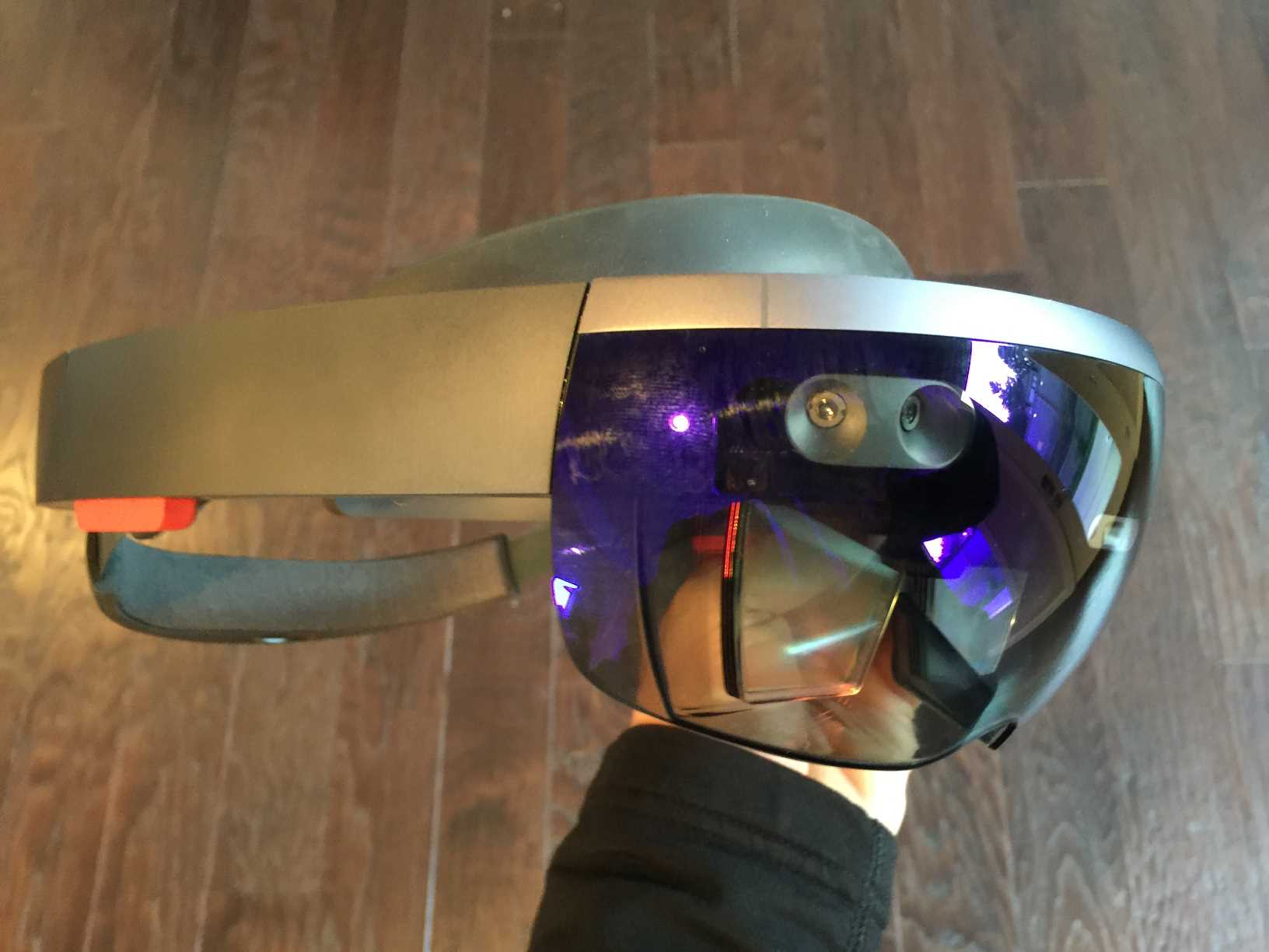 Experience with Microsoft HoloLens hands on